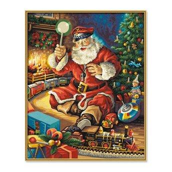Schipper Weihnachtsmann und die Eisenbahn