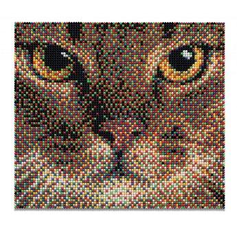 Quercetti Pixel-Art - Katze