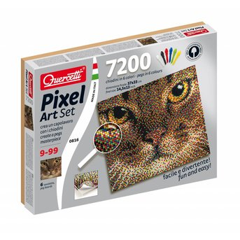 Quercetti Pixel Art - Cat