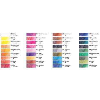 Aquarelkrijt - Losse Kleuren