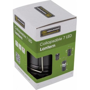 Highlander 7 LED Lantern collapsable