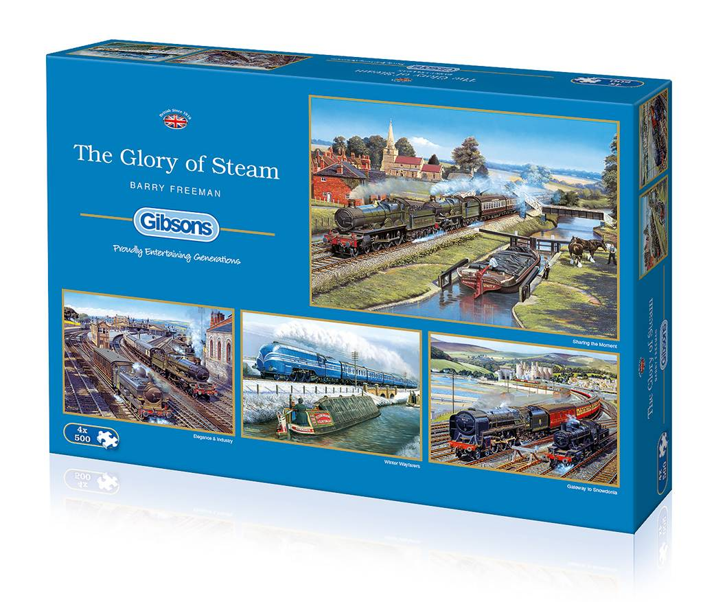 Gibsons The Glory of Steam