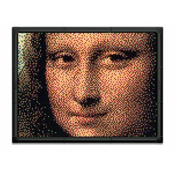 Quercetti Pixel-Kunst - Mona Lisa