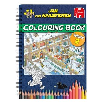 Jumbo Jan van Haasteren - Coloring book - vol. 2