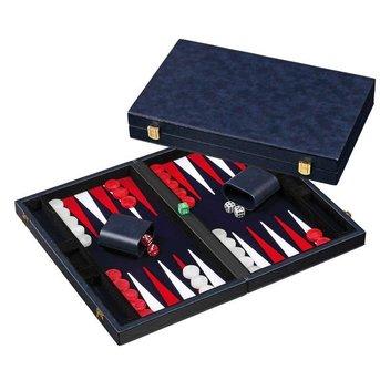 Philos Backgammon (blau, mittel)