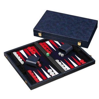 Philos Backgammon (blauw, medium)