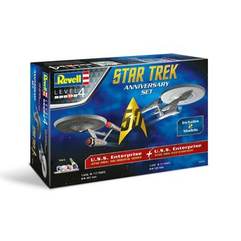 Revell Star Trek - 50th Anniversary Set