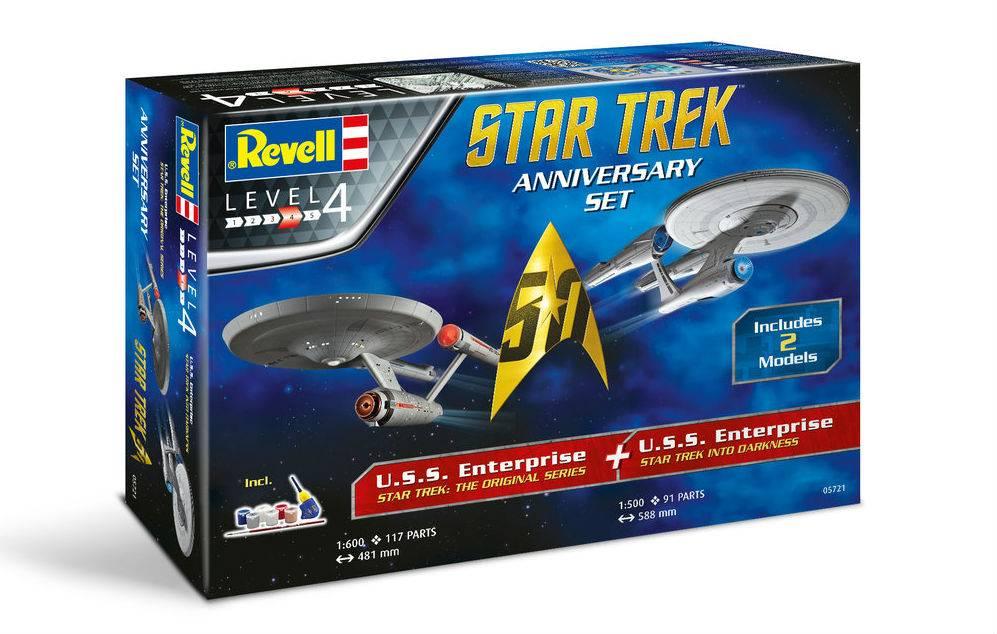 Revell Star Trek - 50th Anniversary Set