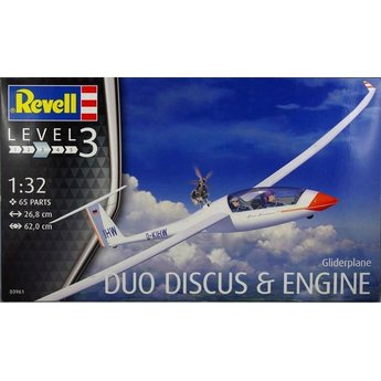 Revell Flugzeug Glider Duo Discus & Motor