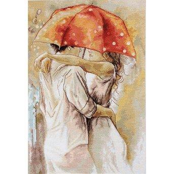 Luca-S under Umbrella