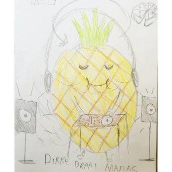 Dikke Draai Ananas
