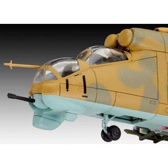 Revell MIL MI-24D Hind