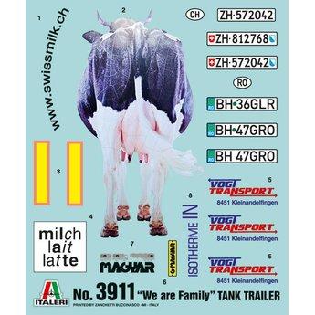 "Italeri ""We Are Family"" Tank Trailer"