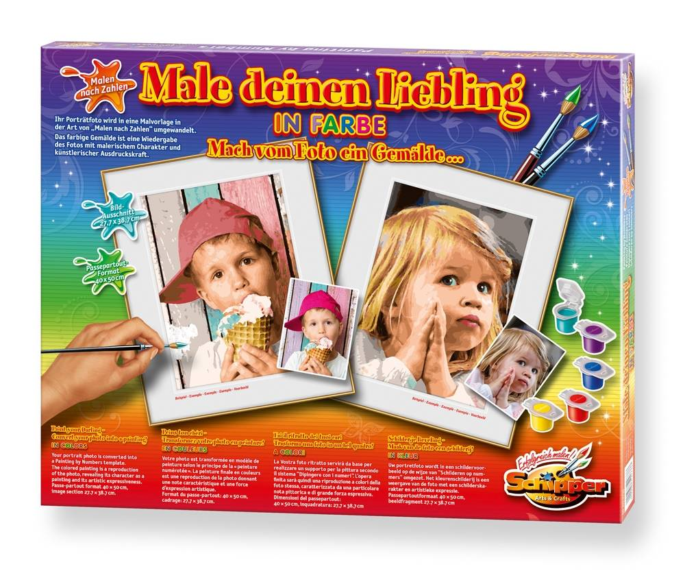 Schipper Paint Your Darling - Color