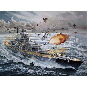 Revell Battleship Bismarck - Platinum Edition
