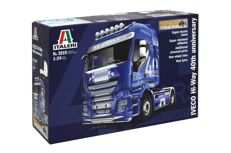 Italeri Iveco Hi-Way - 40th Anniversary