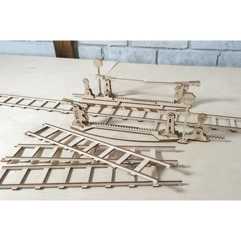 UGears Set Rails with crossing