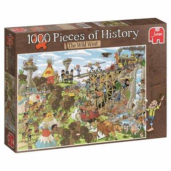 Jumbo Pieces of History - Der Wilde Westen