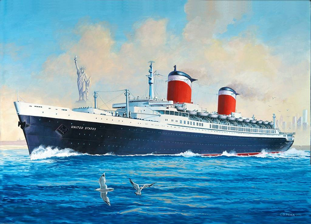 Revell SS United States