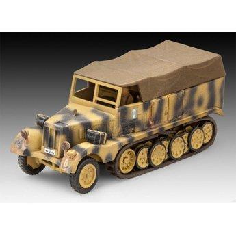 Revell Sd. Kfz. 11 + 7.5 cm Pak 40
