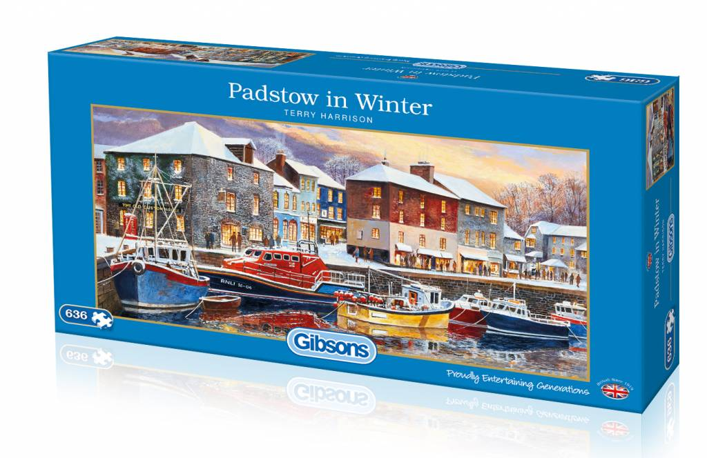 Gibsons Padstow im Winter