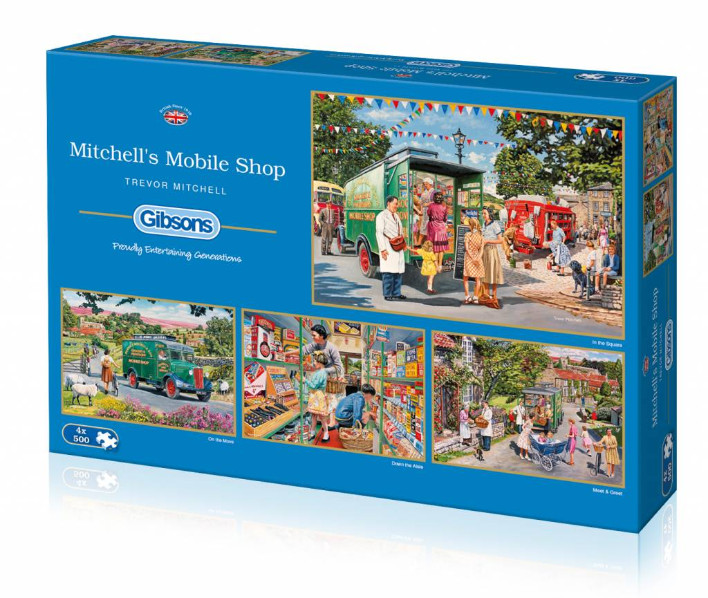 Gibsons Mitchell's Mobile Shop