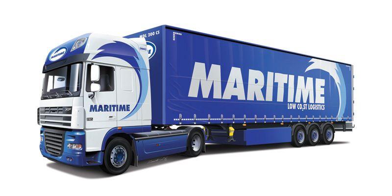 "Italeri DAF XF105 ""Maritime"""