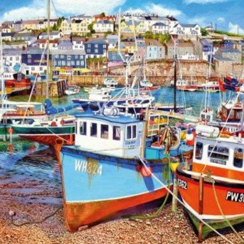 Gibsons Mevagissey Harbour