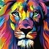 Artventura Rainbow Lion