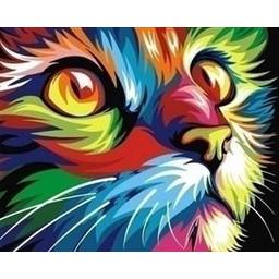 Artventura Regenboog Kat