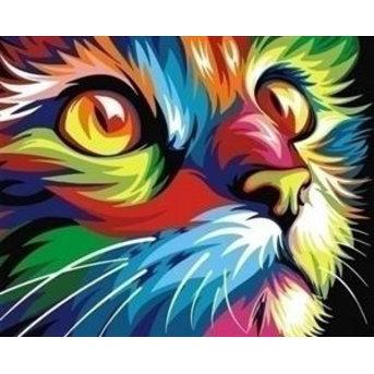 Artventura Regenbogen Katze