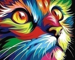 Artventura Rainbow Cat