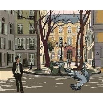 Artventura Straat in Parijs