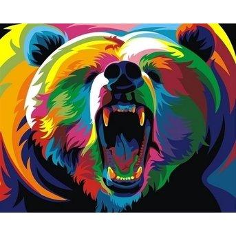Artventura Rainbow Bear