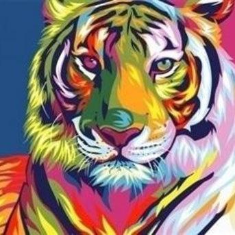 Artventura Regenbogen Tiger