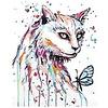 Artventura Kat met Vlinder