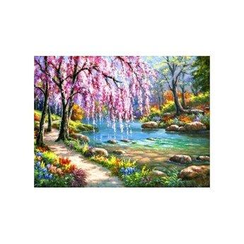 Artibalta Sakura near the River