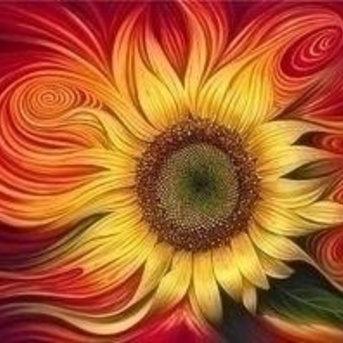 Artibalta Burning Sunflower