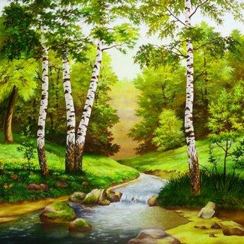 Artibalta Rivier in het Bos
