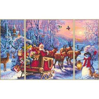 Schipper De Kerstman is Onderweg