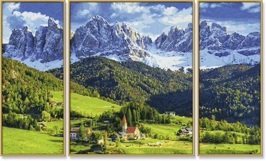 Schipper Sint Magdalena in Zuid Tirol
