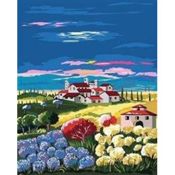 Artventura Field with Hortenzias
