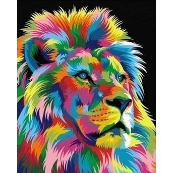 Artventura Regenboog Leeuwenkoning
