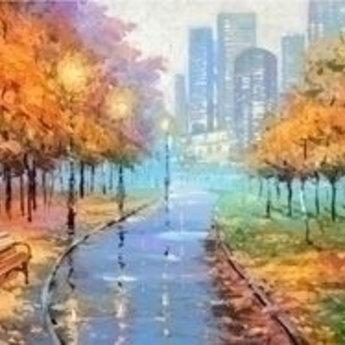 Artibalta Stad in de Herfst