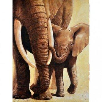 Artibalta Elephant of the mother