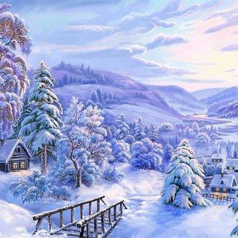 Artibalta Winter Landscape