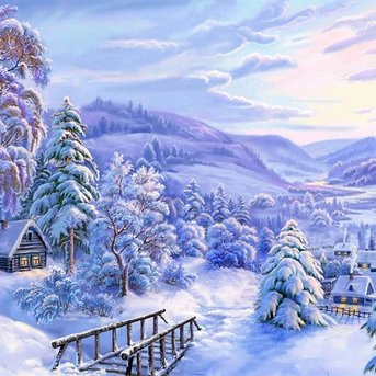 Artibalta Winter Landschap