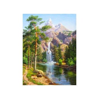 Artibalta Mountain Waterfall