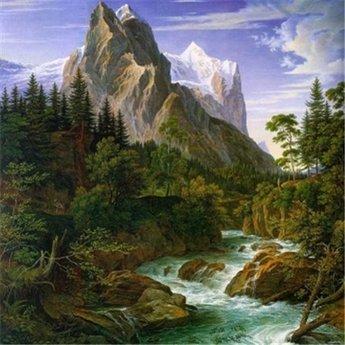 Artibalta River near the Mountain