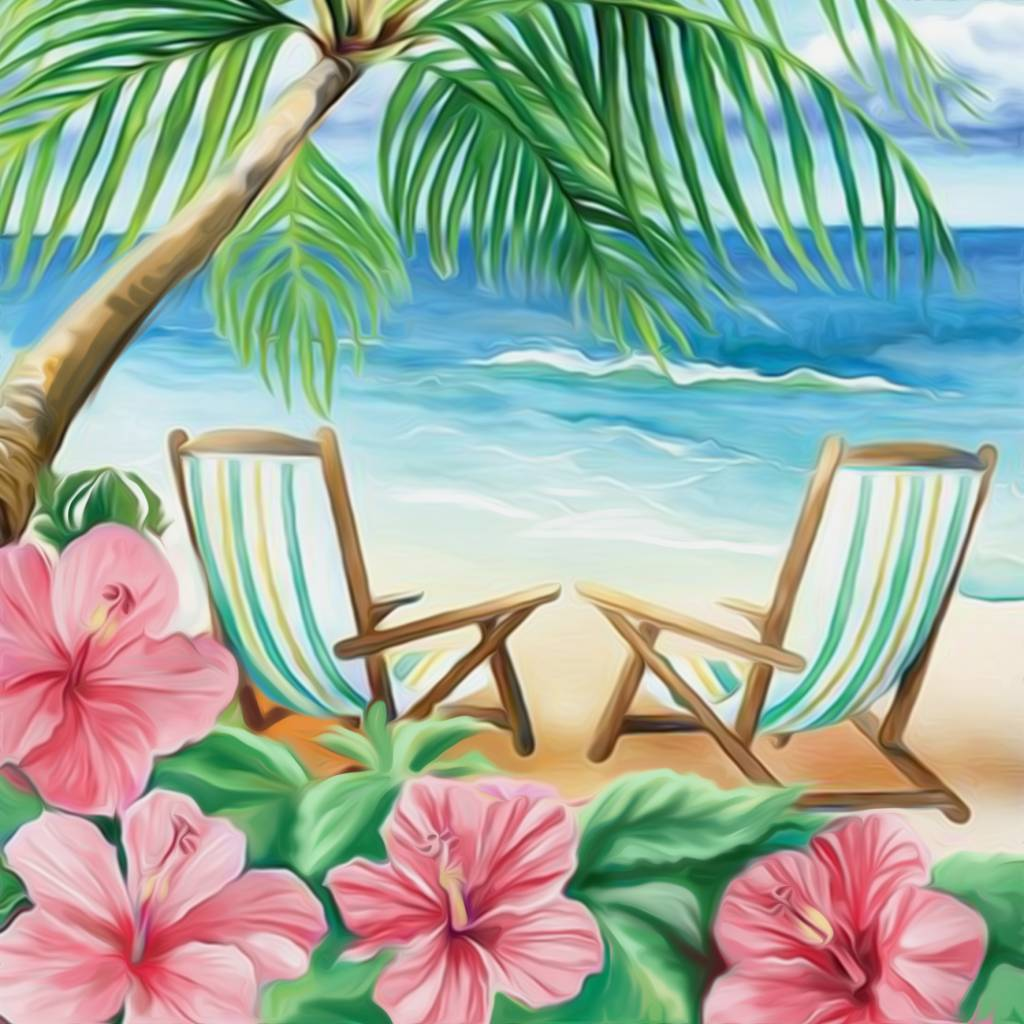 Artibalta Stoeltjes op het Strand